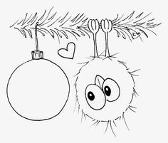 Hi everyone ♥ Time for some new Christmas spirit to be spread around them crafting spaces :) I love drawing but time just seems to fly . Christmas Doodles, Christmas Drawing, Christmas Coloring Pages, Christmas Colors, Christmas Art, Christmas Ornaments, Colouring Pages, Coloring Books, Illustration Noel