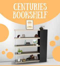 Spirashun's Simblr, Centuries Bookshelf This is a custom bookshelf I...