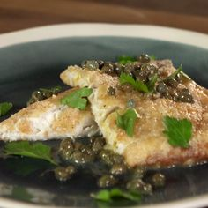 Megan is making this Gluten Free Pan Fried Fish in lemon Caper Sauce. Seafood Dishes, Seafood Recipes, Paleo Recipes, Cooking Recipes, Cooking Ideas, Easy Recipes, Trout Recipes, Fried Fish Recipes, Pan Fried Fish