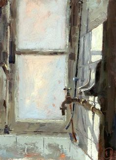 """Sarahs Sink No. 4"" - Original Fine Art for Sale - © Nigel Fletcher"