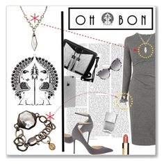 """OH*BON"" by jckallan ❤ liked on Polyvore featuring Whistles, Jimmy Choo, Carianne Moore, Clarins, STELLA McCARTNEY, LA: Hearts, women's clothing, women's fashion, women and female"