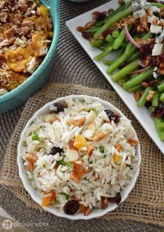 Arroz Navideño Rice Recipes, Veggie Recipes, Mexican Food Recipes, Pasta Recipes, Healthy Recipes, Easy Cooking, Cooking Recipes, 5 Minute Meals, Cooking Instructions
