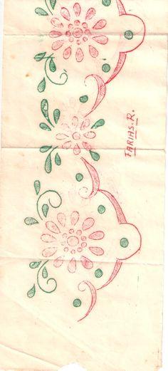 Dibujo para bordar