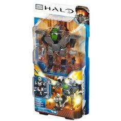 Halo Heavy Assault Cyclops Set Mega Bloks 97328, Multicolor