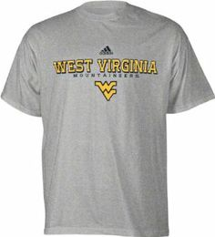 West Virginia Mountaineers Grey Adidas Impervious T-Shirt by adidas. $17.99. 90% Cotton/10% Polyester for extreme comfort. Officially licensed. Adidas logo below main graphic. Screen printed graphics. Rival team fans getting under your skin? With this West Virginia Mountaineers Impervious T-Shirt, nothing will be able to penetrate through your Mountaineers pride. Features a prominently displayed West Virginia Mountaineers logo front and center.