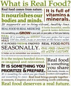 EAT REAL FOOD -