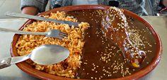 Mexican Food (mole poblano) Puebla, Mexico February, 2015 ESLVentures.com
