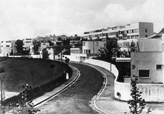 Weissenhof Housing Settlement in Stuttgart , 1927 (contrainte structure mais volume libre)