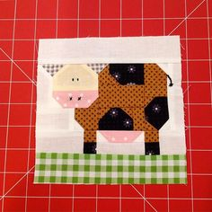 Alphabet Quilt, Girls Quilts, Book Girl, Ios App, Quilt Blocks, Cow, Patches, Kids Rugs, Instagram Posts