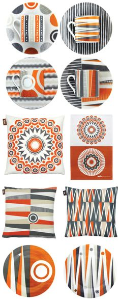 MiniModerns are all about patterns. Here are designs from their newest collection some of which are inspired by a backgammon board.  http://sunsetgurldesign.typepad.com/weblog/chatels/page/6/#