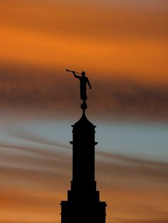 Statue of the Angel Moroni