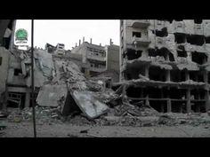 VÍDEOS INÉDITOS DA GUERRA NA SÍRIA - DESTRUIÇÃO DAS CIDADES - PRÉDIOS DE...