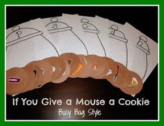 If you Give a Mouse a Cookie Busy Bag