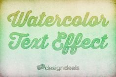 TUTORIAL: How to Create a Quick and Easy Watercolor Text Effect in Photoshop