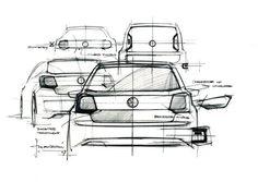 Volkswagen - Art 450: Product Design Sketches