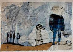 "Saatchi Art Artist Ilya Volykhine; Painting, ""A Windy Day, 2016"" #art"