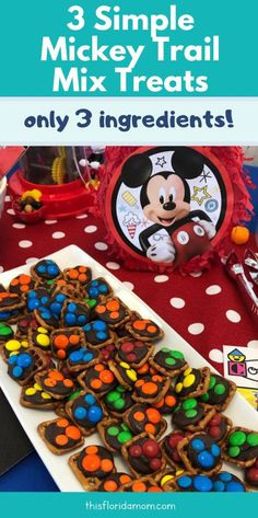 What are your favorite parts of trail mix? Salty and sweet right? Read this post for a simple 3 list ingredient recipe Disney On A Budget, Disney Tips, Disney Food, Monster Birthday Parties, Monster Party, Camping Activities For Kids, Disney Parties, Easy Meals For Kids, Crafty Kids
