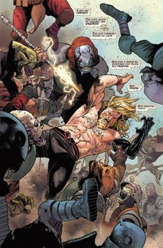 """""""Unworthy Thor #1"""" preview"""