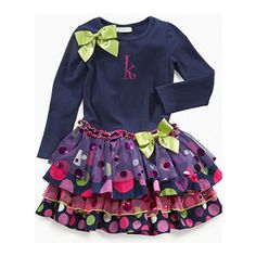 It is accented with a lime green satin bow on the left shoulder for added character.