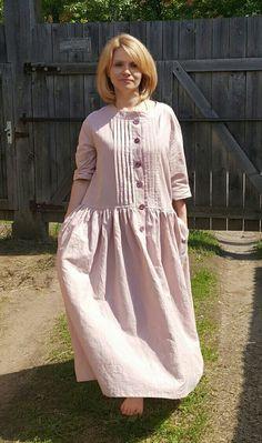 Платья ручной работы. Ярмарка Мастеров - ручная работа. Купить Пыльная роза. Handmade. Бохо, boho, Бохо платье