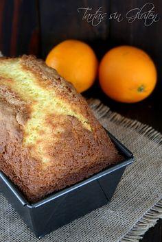 Plumcake de naranja sin gluten