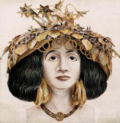 Sumerian Headdress http://images.fineartamerica.com/images-medium-large/sumerian-headdress-granger.jpg