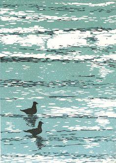 Reduction Lino Prints | Annamie Pretorius