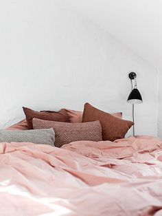 Pop of Pink Interior Spaces lovely home decoration