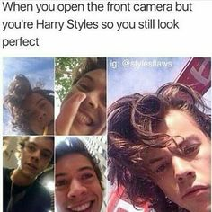 this is so true like if I was harry I'd take way more selfies than he actually does -✨Follow me for some more Gucci pins!!!