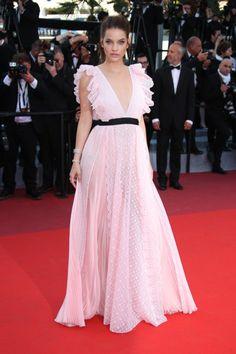 Barbara Palvin de Philosophy en Cannes 2016.