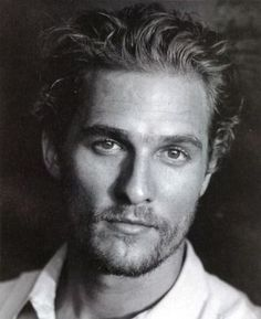 Matthew McConaughey - Black & White Celebrity Photographs
