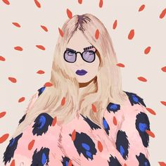 Who run the world? Colourful portraits of Girls by illustrator Petra Eriksson   Creative Boom