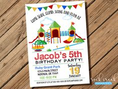 Printable playground birthday invitation party in the park playground invitation playground party park birthday invitation park birthday party printable invitation filmwisefo Gallery