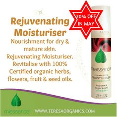 Miessence Rejuvenating Moisturiser is a rich moisturising cream with significant and lasting effects on hydration and softness. Formulated with plant phospholipids, organic herbs, organic fruit and seed oils and butters, and organic flower extracts to nourish and revitalise the complexion.  #miessence #skincare #organicfacial #spatreatment #certifiedorganic #organicmoisturiser