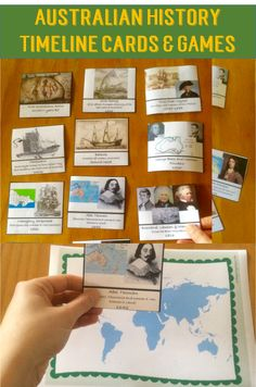 This Australian History Timeline Cards Pack has games and activities that cover all of the Australian History Curriculum from Foundation to Year It is perfect for Homeschool/home education because the whole family can use it together. Numeracy Activities, Literacy And Numeracy, Classroom Activities, Teaching History, Teaching Resources, History Timeline, Teaching Materials, Ancient History, Social Studies