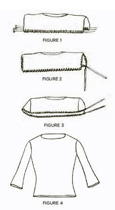 Knitting a top-down sweater with set-in sleeves - Knitting Daily - Blogs - Knitting Daily