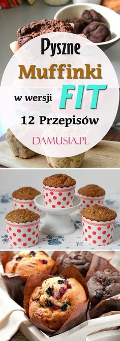 Muffins in the FIT version: 12 Delicious Recipes for Healthy Sweets - Fit Healthy Sweets, Healthy Eating, Healthy Recipes, Healthy Muffins, Delicious Recipes, Helathy Food, Fig Cake, Dessert Recipes, Desserts