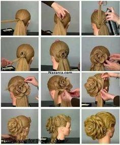 en güzel çocuk saç modelleri topuz ile ilgili görsel sonucu