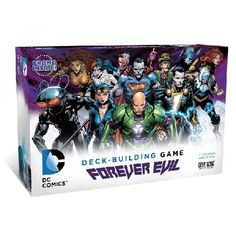 DC Comics Deck-Building Game Forever Evil Itrsquo