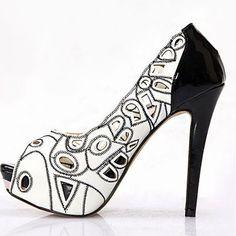 Peep Holes Shoe