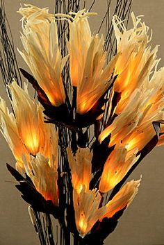 Natural Elements Flame Flowers