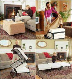 Ottoman Fold Away Bed