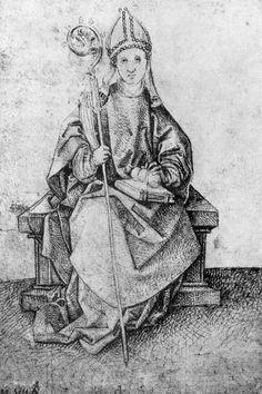 Schongauer, Martin: Hl. Nikolaus von Myra c.1475