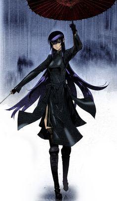 Saeko Busujima - High School of the Dead - See more anime at: www.cartoonanimefans.com
