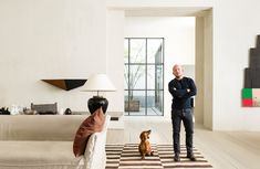 The master of pared-back simplicity illuminates his serene interiors with flashes of Mediterranean fire. He talks to Jenny Dalton about what he has planned as new creative director of Molteni