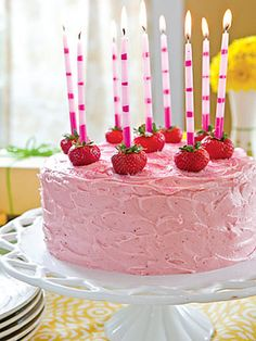 Love strawberry cake