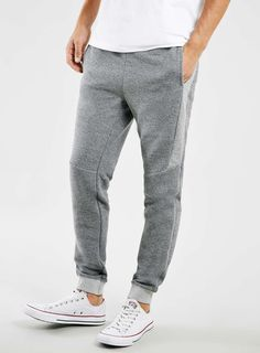 Grey Salt And Pepper Joggers