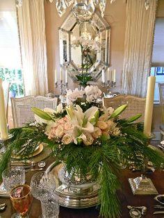 Un enorme y elegante arreglo floral