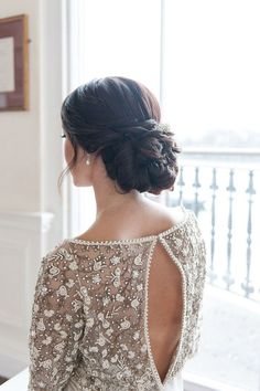 Low chignon | Bridal hairstyle | hairstyles for long hair | Updo