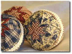 Pot Holders and Pantyhose: How To Make Quilted Christmas Ornaments